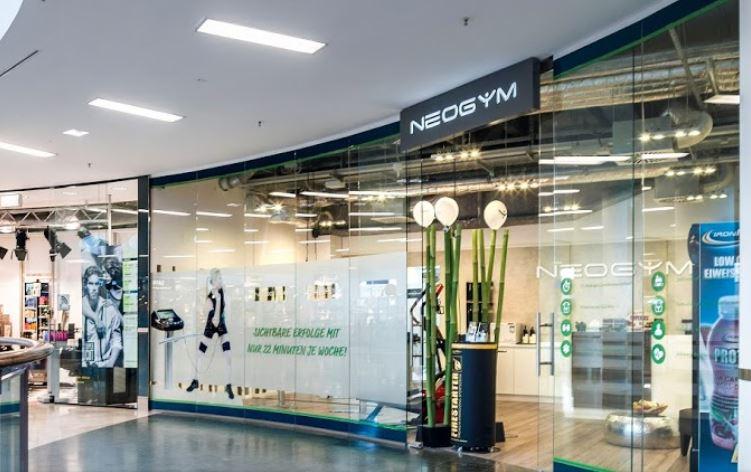 neogym studio neuss rheinpark center aussenansicht neogym dein premium anbieter f r ems. Black Bedroom Furniture Sets. Home Design Ideas