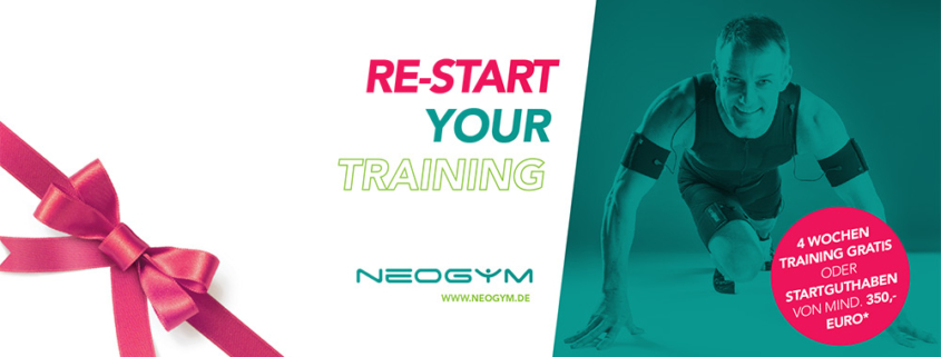RE-START YOUR TRAINING